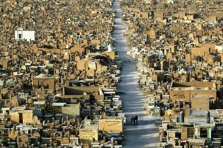 Nghĩa địa lớn nhất hành tinh tồn tại 1.400 năm